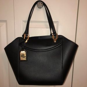 Black Ralph Lauren bag